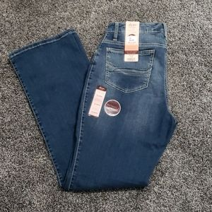 Aura by Wrangler Instantly Slimming Bootcut, sz 12